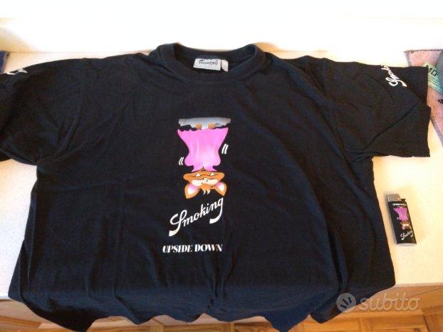 Smoking-T-Shirt&accendino Upside Down+5collezioni+