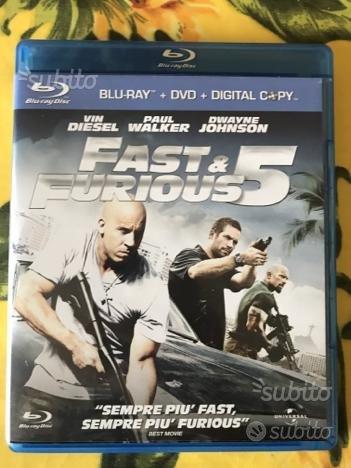 Fast & Furious 5 Blu-ray film originale