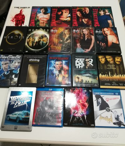Film e Serie TV in DVD e Blu Ray