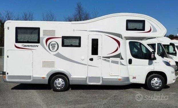 Camper nuovo Elnagh Baron 26 Fiat 6 posti garage