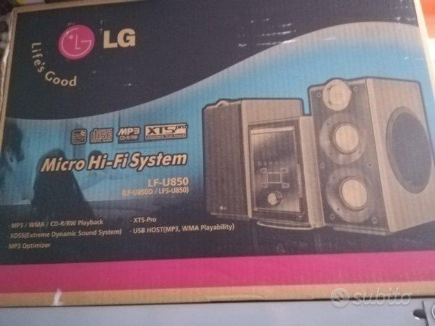 Lg micro hi fi system lf-u850