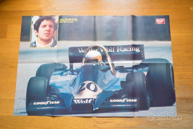 Poster Jody SCHECKTER F1