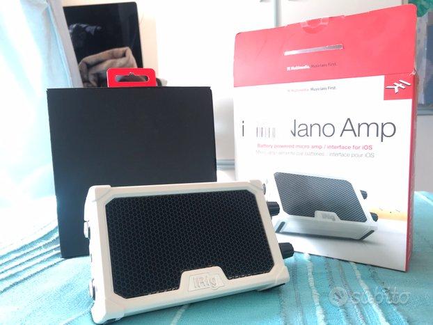 IRing Nano Amp - bianco - come nuovo