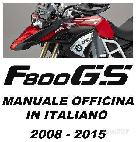 Manuale Officina F800-700-650GS-ADV 2008>2015