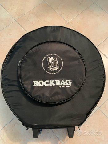 Borsa trolley per piatti batteria Rockbag