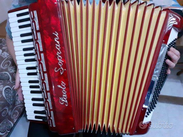 Fisarmonica Paolo Soprani 120 bassi