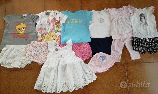 Lotto primevera estate 6 mesi bambina