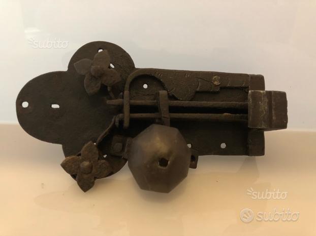 Serratura antica tirolese in ferro