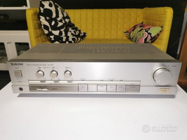Amplificatore integrato Technics SU-A600 Japan ed