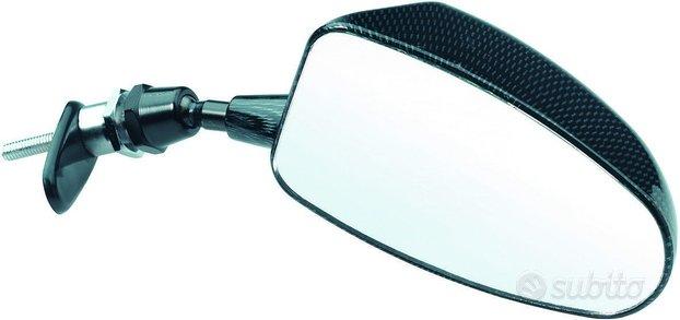Coppia specchietti retrovisori racing carbon look
