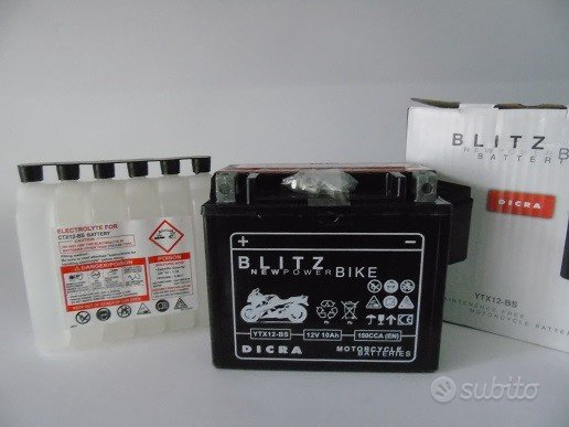 Batteria YTX12B-BS