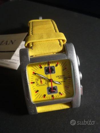 Cronografo LOCMAN SPORT R428 giallo