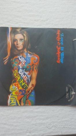 Santo e Johnny disco 45 giri Love is Blue