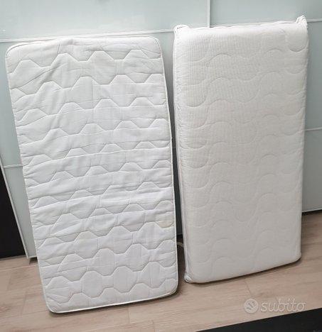 Coppia materassi da lettino Ikea in puro cotone