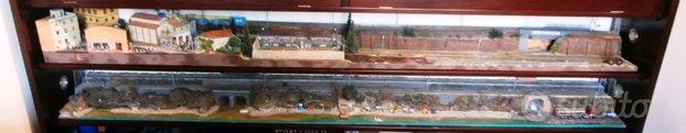 Terzo grande diorama ferroviario scala HO. Illumin