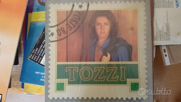 Lp in vinile UMBERTO TOZZI-POSTE 80