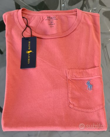 Polo Ralph Lauren T-Shirt Small CF Nuova Originale