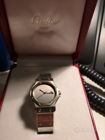 Cartier santos ronde orologio