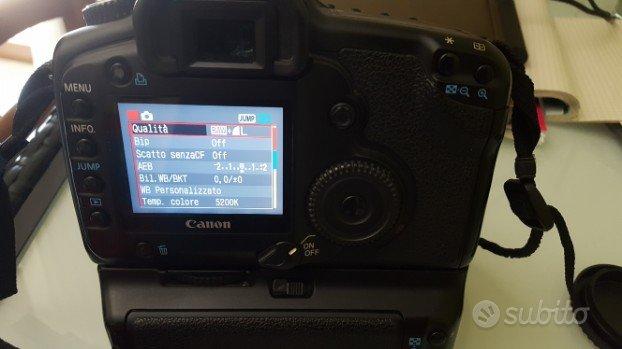 Canon 5d con battery grip