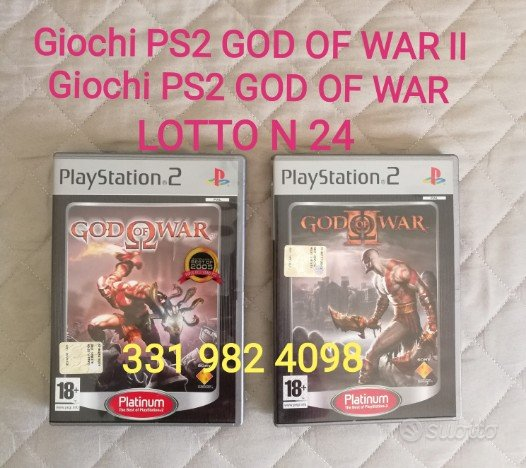 Giochi ps2 god of war II