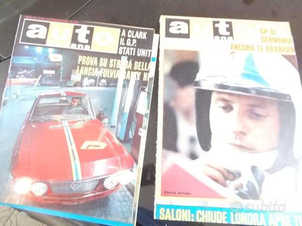 Riviste auto italiana anno 1967