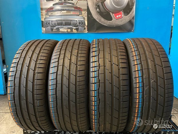 4 Gomme 225/45 R19 - 96W Hankook 90% res. 19-20