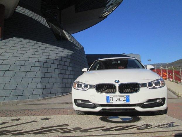 BMW 318 d Touring automatico SPORT GANCIO-LED-NA