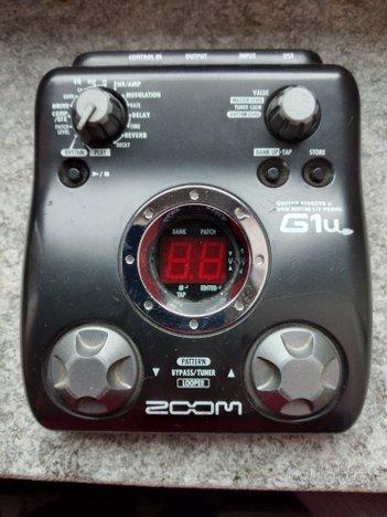Multieffetto chitarra Zoom G1U