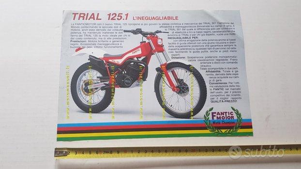 Fantic Motor Trial 125.1 1985 depliant originale