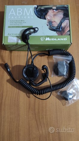 Microfono auricolare Midland ABM Tactical
