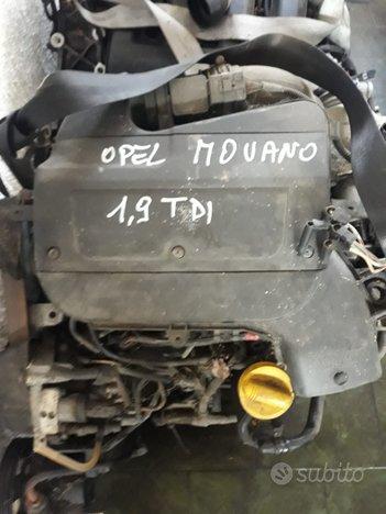 Motore opel movano - f9q u7