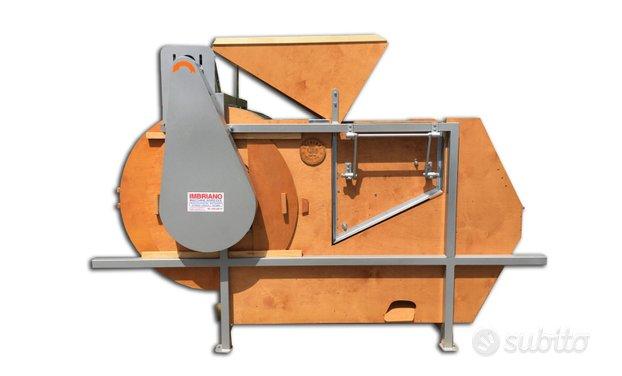 Pulitore per cereali e sementi monofase in legno