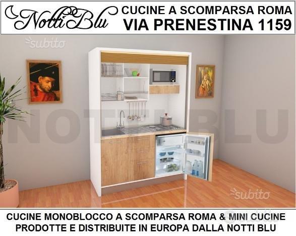 Cucina Monoblocco Su Misura Notti Blu Susy Arredamento In Vendita A Roma Roma