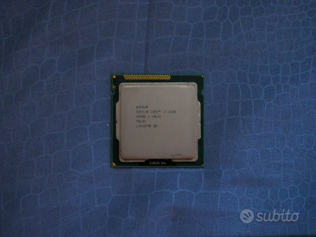Intel Core i7-2600 3.40GHz 8MB Cache