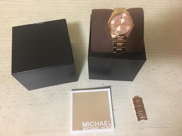 Orologio Rosa dorato Michael Kors originale