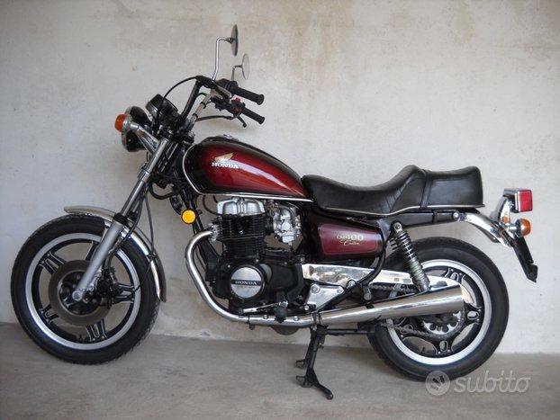 Honda CM 400 C moto storica