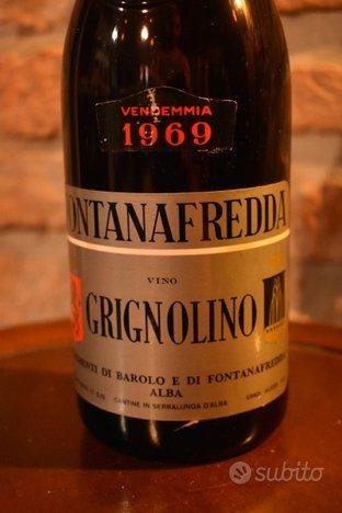 4 bottiglie Grignolino Dolcetto vino vintage