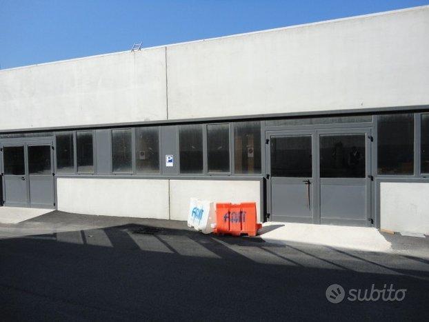 Tor Sapienza - capannone + ufficio