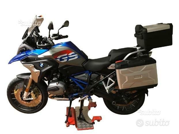 Pedana carrello sposta moto BMW/Ducati