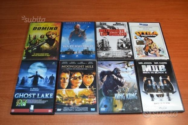 8 film DVD originali -Raccolta 3