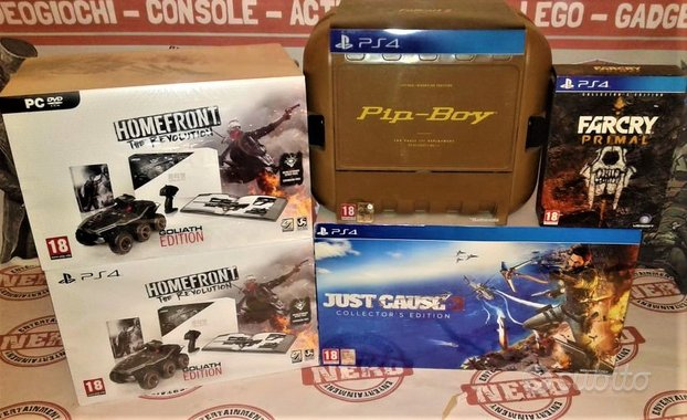 Collector's Edition [Nuove e Usate] PS4 / PC
