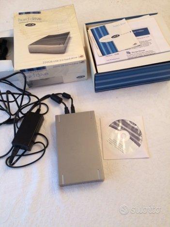 HD LaCie 250GB USB 2.0 Hard Drive
