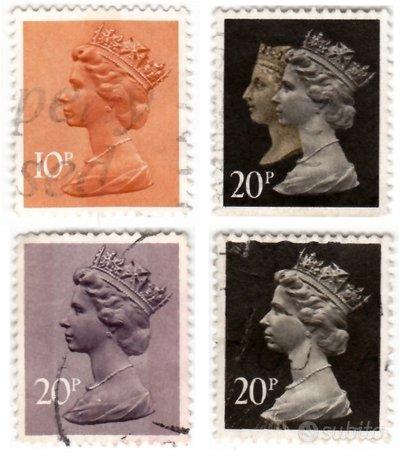 Regina Elisabetta II° d'Inghilterra - 10 Stamps