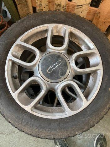 Cerchi in lega Fiat 500+4 gomme