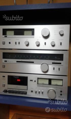 Sansui amplificatore tuner registratore