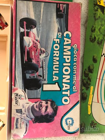 Campionato formula 1 gioco da tavolo
