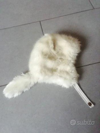 Cappello bambina H&M colore bianco taglia 4-8 anni