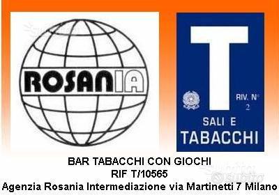 Bar tabacchi con giochi rif T/10565