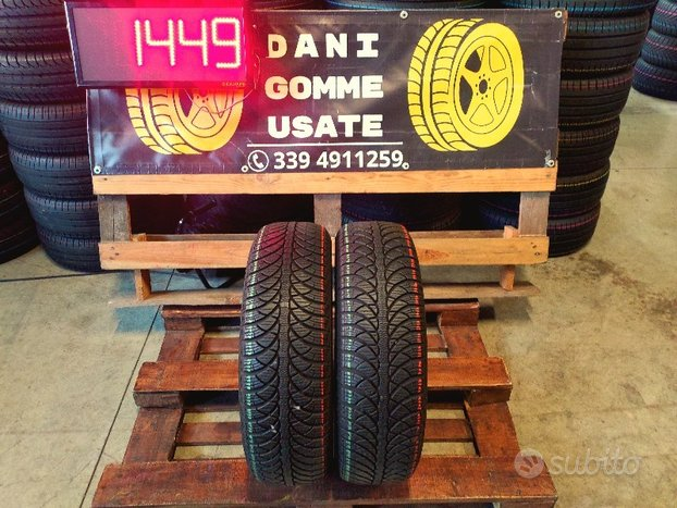 2 Gomme Usate 185 65 15 TERMICHE 85% FULDA