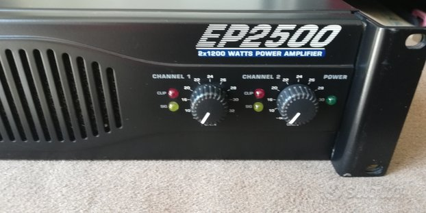 Finale Behringer EP2500-NUOVO